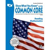 Show What You Know® on the Common Core Student Workbook: Reading & Mathematics, Grade 4