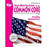 Show What You Know® on the Common Core Student Workbook: Reading & Mathematics, Grade 5