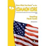 Show What You Know® on the Common Core Flash Cards, Reading, Grade 3