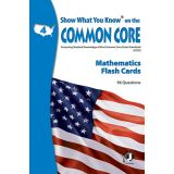 Show What You Know® on the Common Core Flash Cards, Mathematics, Grade 4