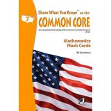 Show What You Know® on the Common Core Flash Cards, Reading, Grade 6