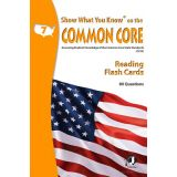 Show What You Know® on the Common Core Flash Cards, Mathematics, Grade 7