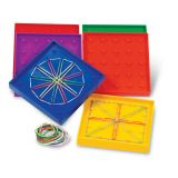 Double-Sided Rainbow™ Geoboards