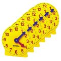 Extra 4 Geared Mini-Clocks, Set of 6