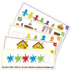 All About Me Family Counters™ Double-Sided Activity Cards