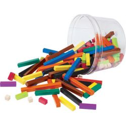 Cuisenaire® Rods Small Group Set, Plastic