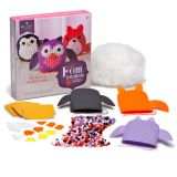Craft-tastic Pom Stuffed Animals Kit