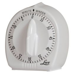 Classic Mechanical Timer, White