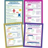 Avoiding Math Errors Teaching Poster Set