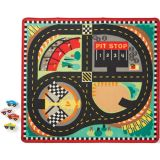 Race Track Rug with cars