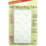 Magic Mounts® Mounting Tabs, 1/2 x 1/2, Pack of 480