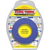 Cling Thing® Display Strip, Blue