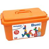 Buni Blocks, Primary colors, 74 pieces