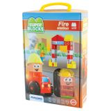 Super Blocks Fire Station Set