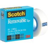 Scotch® Removable Tape, 3/4 x 1296