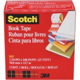 Scotch® Book Tape, 4 x 15 yds