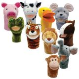 PlushPups Hand Puppets, Set of all 10