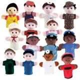 Community Helper Puppets, Set of all 15
