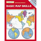 Basic Map Skills Reproducible Book