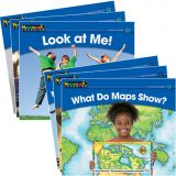 Rising Readers Leveled Books, Social Studies Set, 24 titles