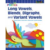Hands-On Phonics Long Vowels, Blends, Digraphs and Variant Vowels