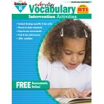 Everyday Intervention Activities for Vocabulary