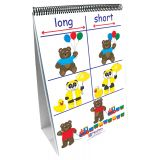 Early Childhood Math Readiness Flip Chart, Positions/Opposites