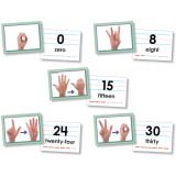 Number 0-30 Sign Language Cards