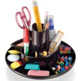 Officemate® Recycled Rotary Organizer