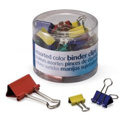 Officemate® Assorted Binder Clips