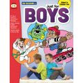 Just for Boys Reading Comprehension, Grades 1-3