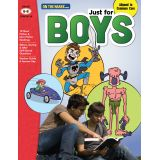 Just for Boys Reading Comprehension, Grades 6-8