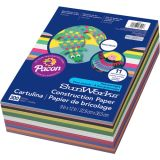 SunWorks� Smart-Stack� Construction Paper Assortment, 12 x 18, 150 Sheets