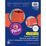 Pacon® Premium Tagboard, Pumpkin Orange