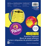Pacon® Premium Tagboard, Hyper Yellow