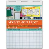 Heavy Duty Anchor Chart Paper, 1 Grid Ruled, 27 x 34