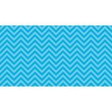 Fadeless® Design Roll, 48 x 50', Aqua Chevron