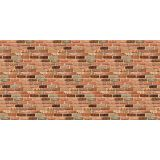 Fadeless® Design Roll, 48 x 50', Reclaimed Brick