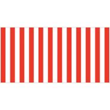Fadeless® Design Roll, 48 x 50', Red & White Classic Stripes