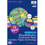 SunWorks® Smart-Stack™ Construction Paper Assortment, 12 x 18, 150 Sheets