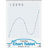 Chart Tablet, 24 x 32, 1 Grid Rule