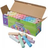 Creativity Street® Sidewalk Chalk, 52 pieces