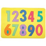 WonderFoam® Magnetic Letter Puzzle, Numerals