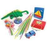 Artstraws®, 1,800 straws, 4mm, Colored