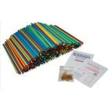 Artstraws®, 900 straws, 6mm, Colored