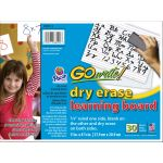 GoWrite!® Dry Erase Learning Boards, Pack of 30