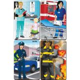 Occupations Set, Set of 4 Tray Puzzles