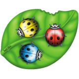 Ladybirds on a Leaf Shaped Puzzle