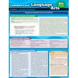 Common Core Language Arts Laminated Standards, Grade 8