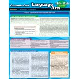 Common Core Language Arts Laminated Standards, Grades 11-12